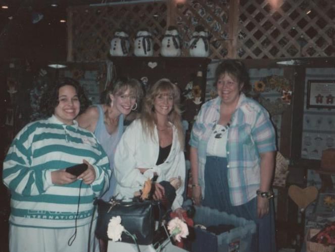Mom, Dawn, Jenny, & Me